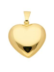 Damen Goldschmuck 585 Gold Anhänger Herz 1001 Diamonds gold