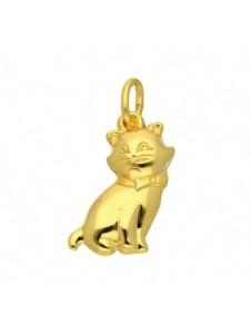 1001 Diamonds Damen Goldschmuck 585 Gold Anhänger Katze 1001 Diamonds gold
