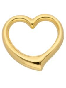 1001 Diamonds Damen Goldschmuck 585 Gold Anhänger Swingheart 1001 Diamonds gold