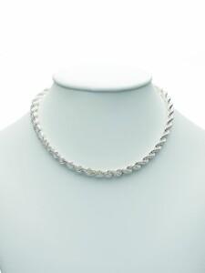 1001 Diamonds Damen Silberschmuck 925 Silber Kordel Armband 21 cm 1001 Diamonds silber