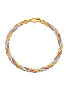 3rhg. Armband Diemer Gold Multicolor