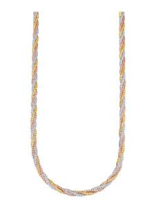 3rhg. Halskette Diemer Gold Multicolor
