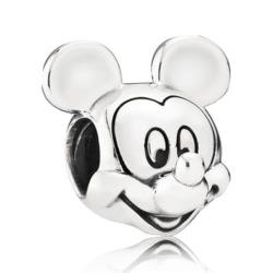 925er Silber Charm Mickey Portrait Disney