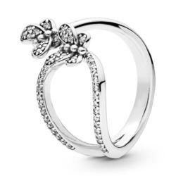 Ring Butterfly aus 925er Silber mit Zirkonia