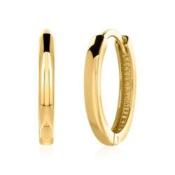 9K Gold Creolen für Damen