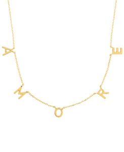 A.M.O.R.E.|Halskette Gold