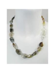 Achat Montana Halskette 1001 Diamonds weiss