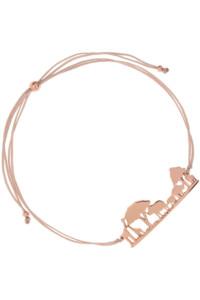 AFRICAN SKYLINE Armband rosé vergoldet