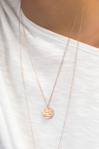 AFRICAN WILDLIFE Halskette rosé vergoldet