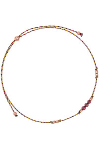 ALLEGRIA Armband Granat