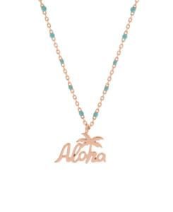 ALOHA|Halskette Blau