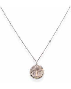 Amen Damen-Kette 925er Silber 13 Zirkonia