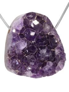 Amethyst Anhänger 1001 Diamonds violett