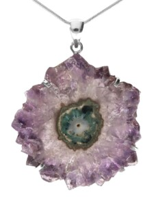 Amethyst Anhänger 925 Silber 1001 Diamonds violett