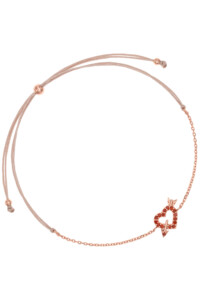 AMOR Armband rosé vergoldet