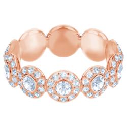 Angelic Ring, weiss, Rosé vergoldet