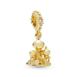 Anhänger Agrabah Castle Disney aus 925er Silber gold