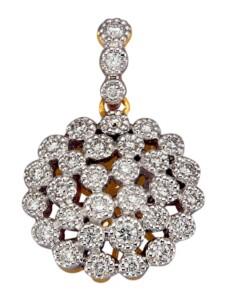 Anhänger Diemer Diamant Weiß