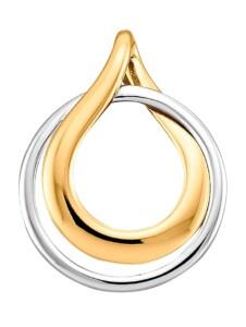Anhänger Diemer Gold Gelbgoldfarben