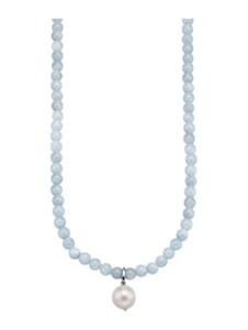 Anhänger mit Halskette Diemer Farbstein Blau