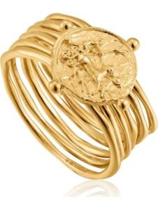 Ania Haie Damen-Damenring Apollo Ring 925er Silber Ania Haie gold