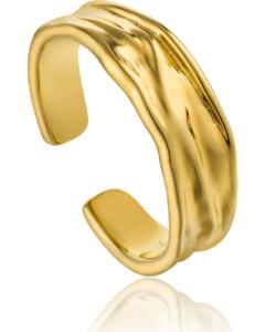 Ania Haie Damen-Damenring Crush Adjustable Ring 925er Silber