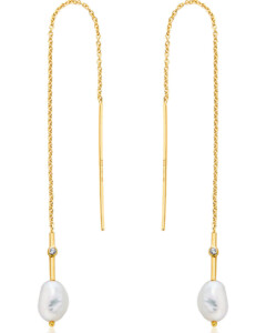 Ania Haie Damen-Ohrhänger 925er Silber