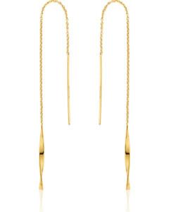 Ania Haie Damen-Ohrhänger Helix Thrader Earrings 925er Silber