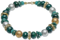 Anna Mütz: Collier 'Royal Green', Collier, Schmuck