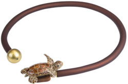 Anna Mütz: Collier 'Schildkröte', Collier, Schmuck
