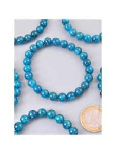 Apatit Armband 1001 Diamonds blau grün