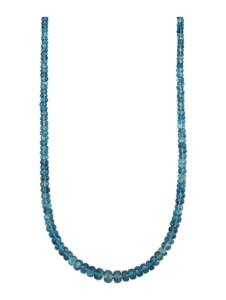 Aquamarin-Kette Diemer Farbstein Blau