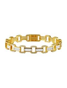 Armband AMY VERMONT Gelbgoldfarben