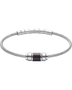 Armband aus Edelstahl mit Achat