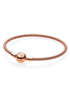 Armband, ca. 19 cm Pandora Rosé