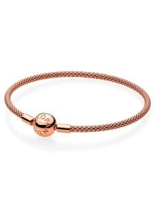 Armband, ca. 21 cm Pandora Rosé