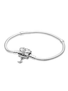 Armband -Dekorativer Schmetterling- Pandora Silberfarben