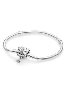 Armband -Dekorativer Schmetterling- Pandora Weiß