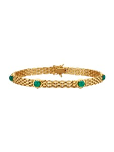 Armband Diemer Farbstein Grün