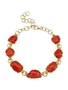 Armband Diemer Farbstein Rot