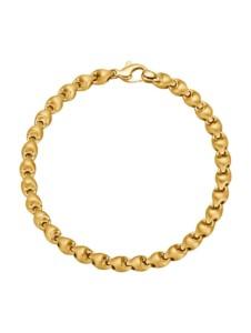 Armband in Gelbgold 585 KLiNGEL Gelbgoldfarben