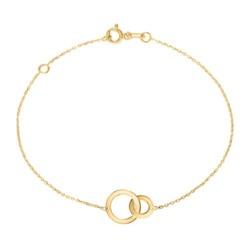 Armband Kreise für Damen aus 375er Gold
