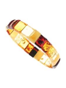 Armband – Lara – Bernstein – , OSTSEE-SCHMUCK mehrfarbig