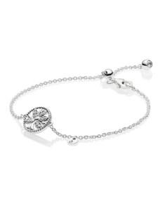 Armband -Lebensbaum- Pandora Weiß