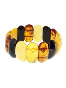 Armband – Lissa – Bernstein – , OSTSEE-SCHMUCK mehrfarbig