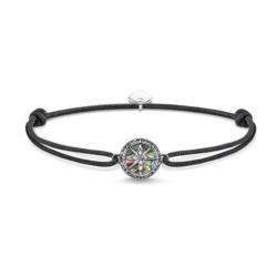 Armband Little Secret Kompass Perlmutt aus 925er Silber