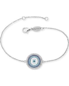 Armband Lucky Eye aus Sterling Silber