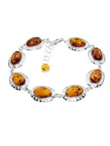 Armband – Michelle – Silber 925/000 – Bernstein OSTSEE-SCHMUCK silber