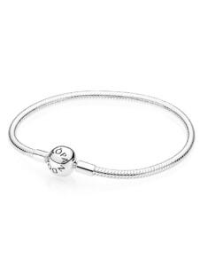 Armband mit Logo Pandora Silberfarben