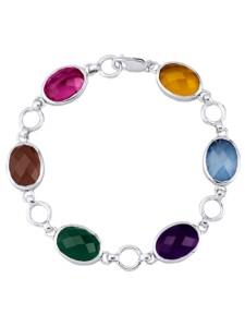 Armband mit Quarzen Jamelli Multicolor